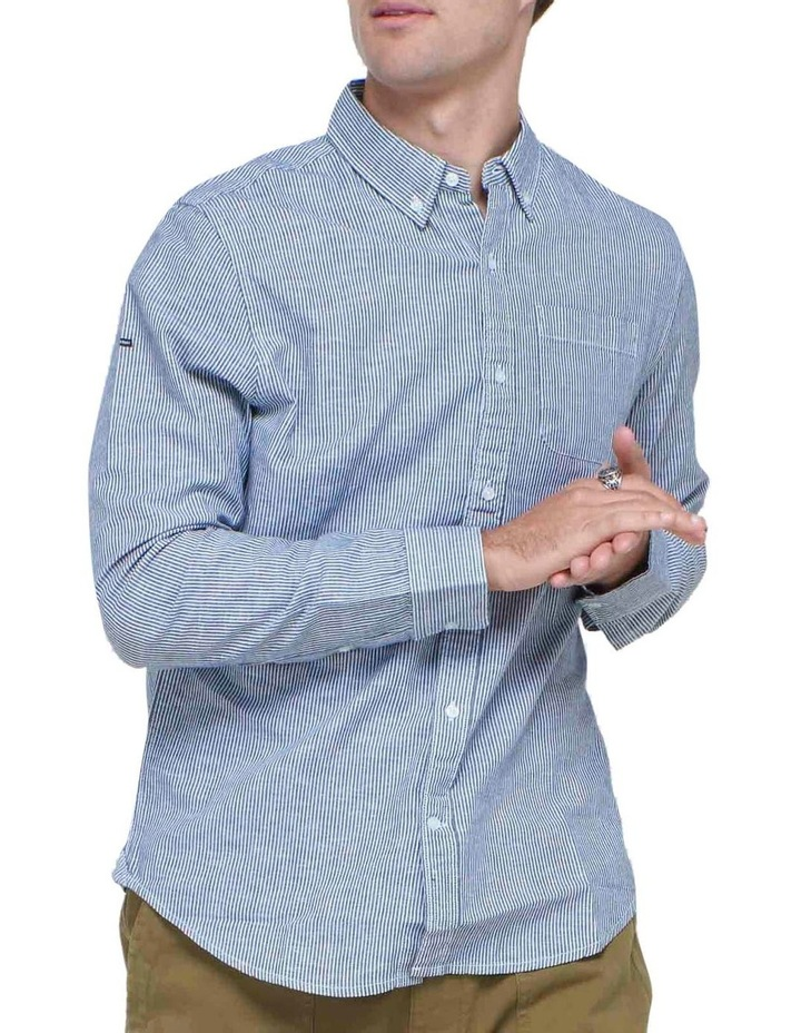 Cotton Linen Long Sleeve Shirt image 1