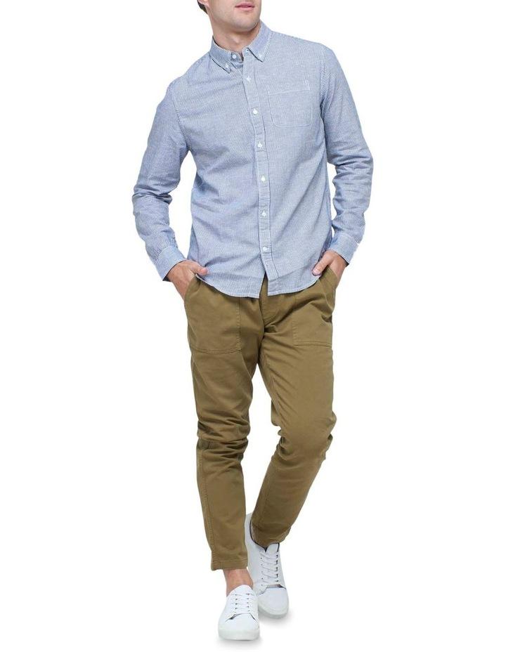 Cotton Linen Long Sleeve Shirt image 2
