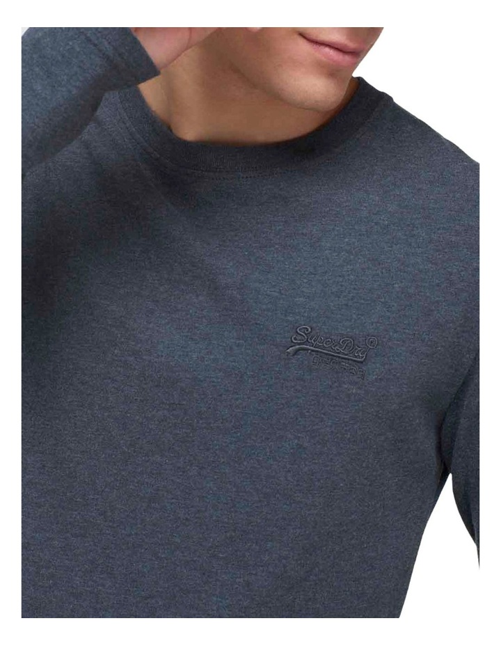 Orange Label Vintage Embroidered Long Sleeve Top image 5