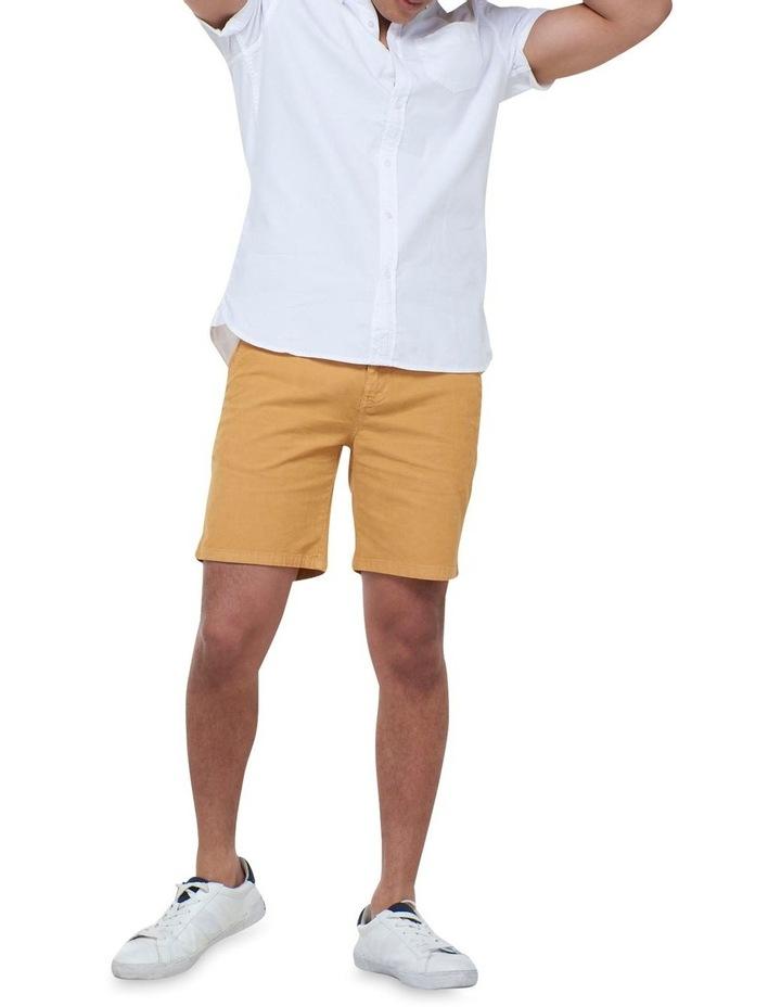 Short Sleeve Classic University Oxford Shirt White image 2