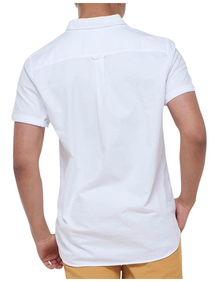 Short Sleeve Classic University Oxford Shirt White image 4