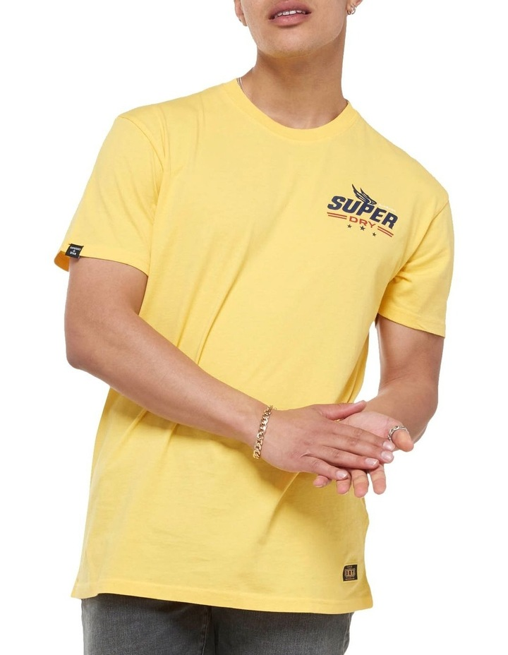 Boho Box Fit Graphic Tee Springs Yellow image 1