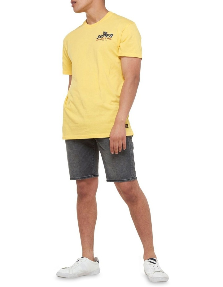 Boho Box Fit Graphic Tee Springs Yellow image 2