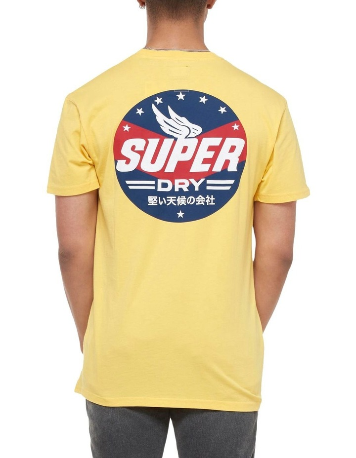 Boho Box Fit Graphic Tee Springs Yellow image 4