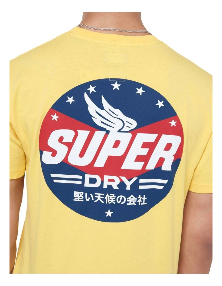 Boho Box Fit Graphic Tee Springs Yellow image 6