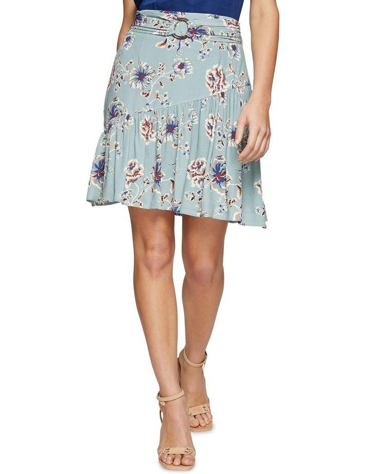 Kat Floral Printed Skirt image 1