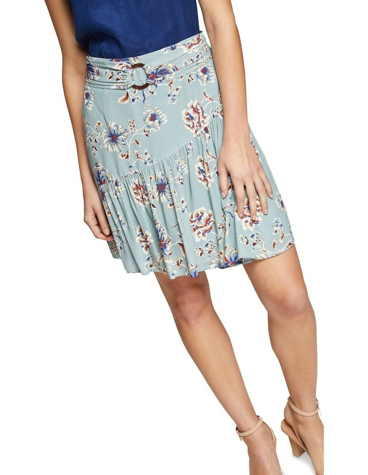 Kat Floral Printed Skirt image 4