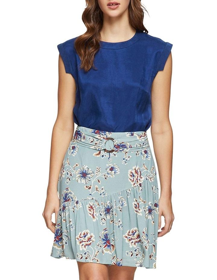 Kat Floral Printed Skirt image 5