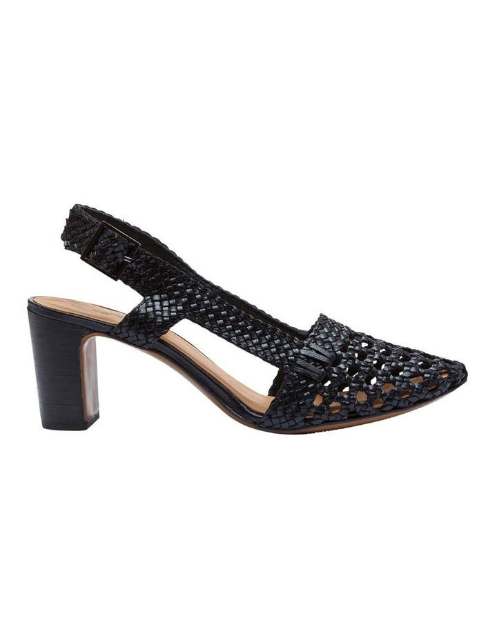 Mabel Leather Woven Shoe image 1