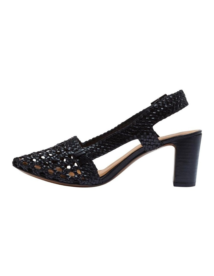 Mabel Leather Woven Shoe image 2