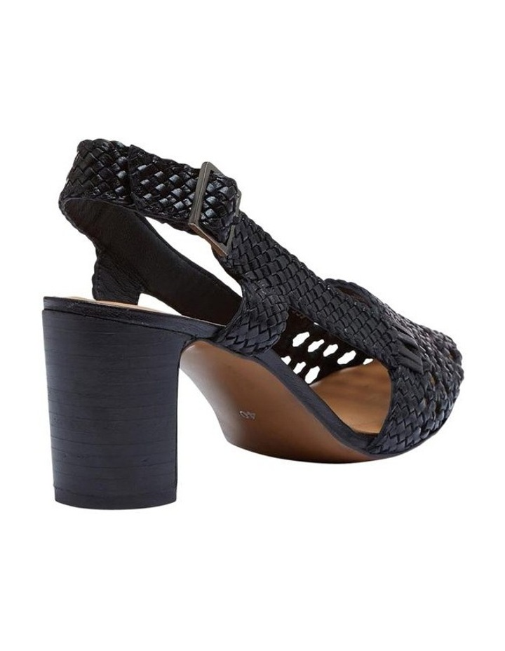 Mabel Leather Woven Shoe image 3