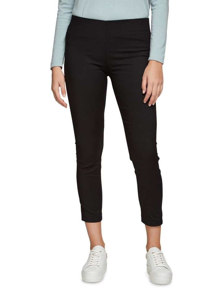 Jackie Zipper Crop Stretch Pants image 1