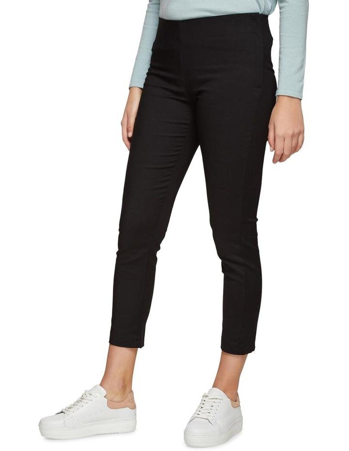 Jackie Zipper Crop Stretch Pants image 2