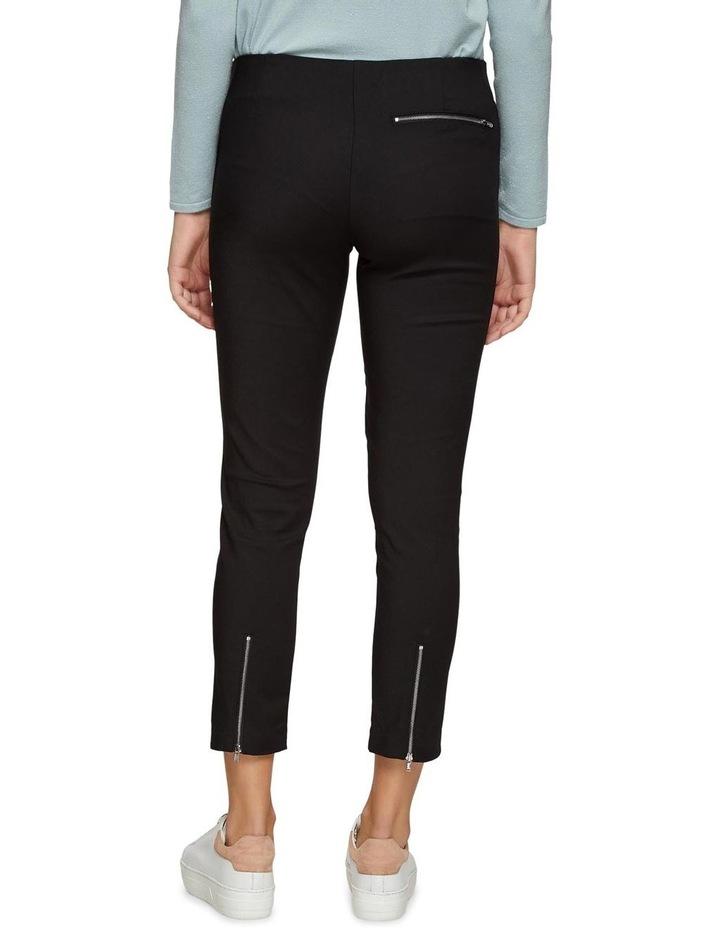 Jackie Zipper Crop Stretch Pants image 3