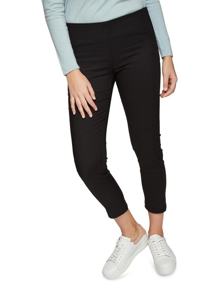 Jackie Zipper Crop Stretch Pants image 4