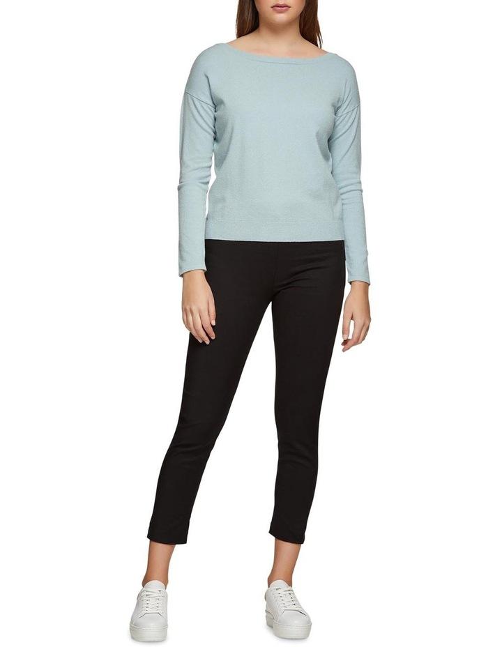 Jackie Zipper Crop Stretch Pants image 5
