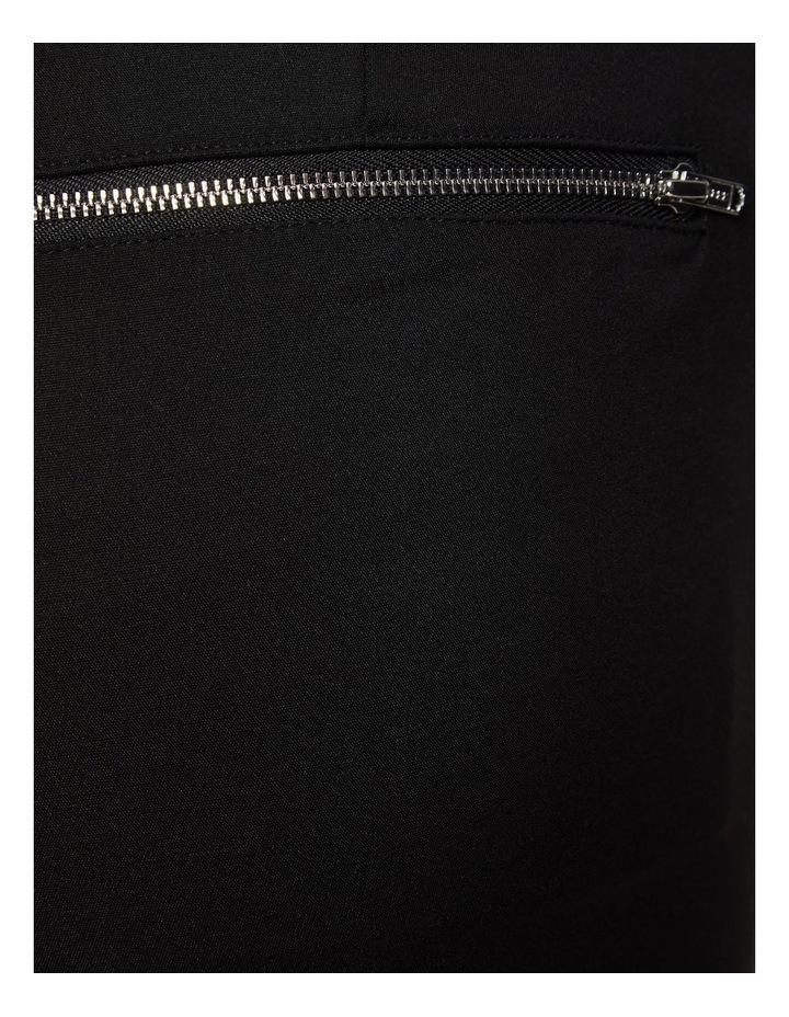 Jackie Zipper Crop Stretch Pants image 6