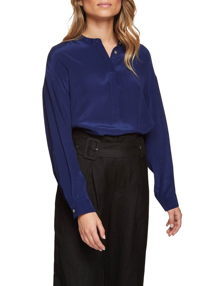 Ruby Collarless Blouse image 1