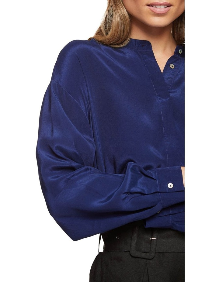 Ruby Collarless Blouse image 4