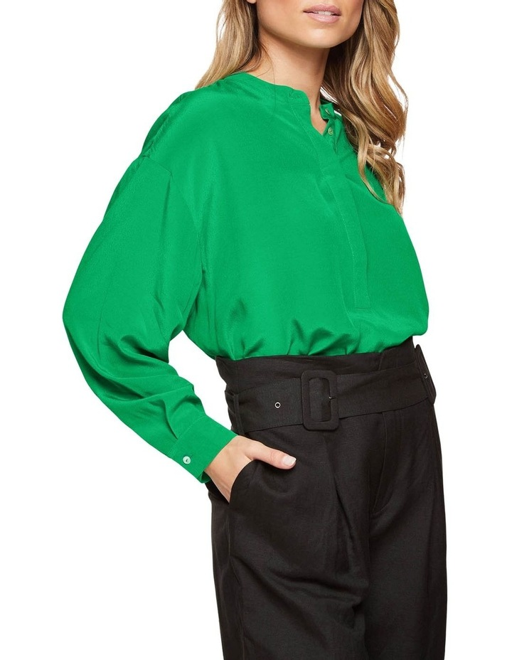 Ruby Collarless Blouse image 2