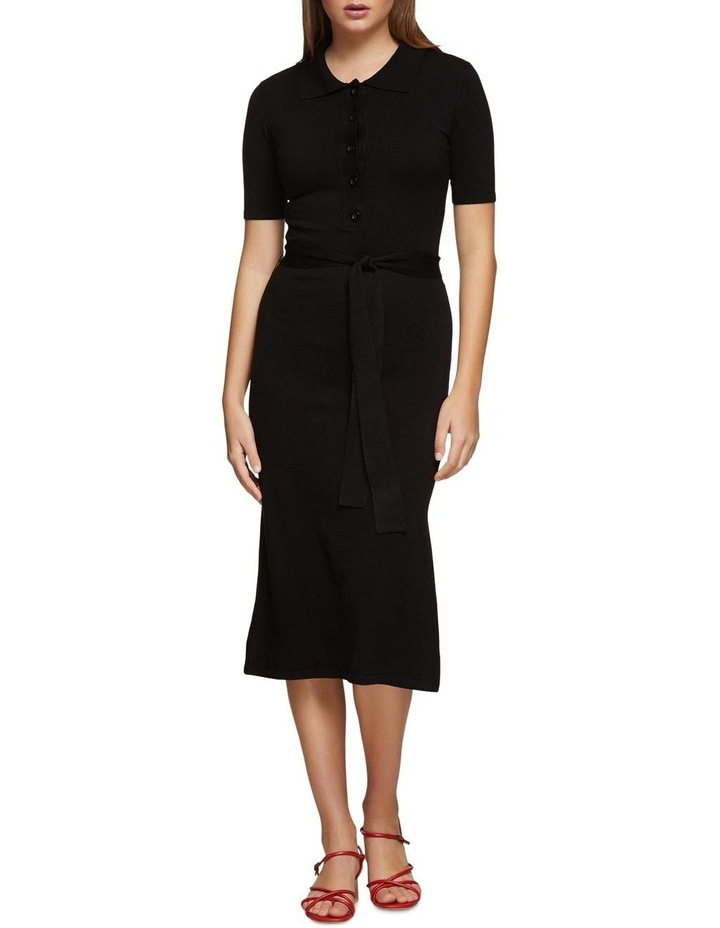 Pansy Polo Knitted Dress X image 1
