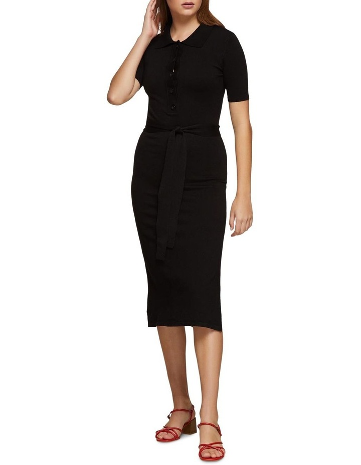 Pansy Polo Knitted Dress X image 5