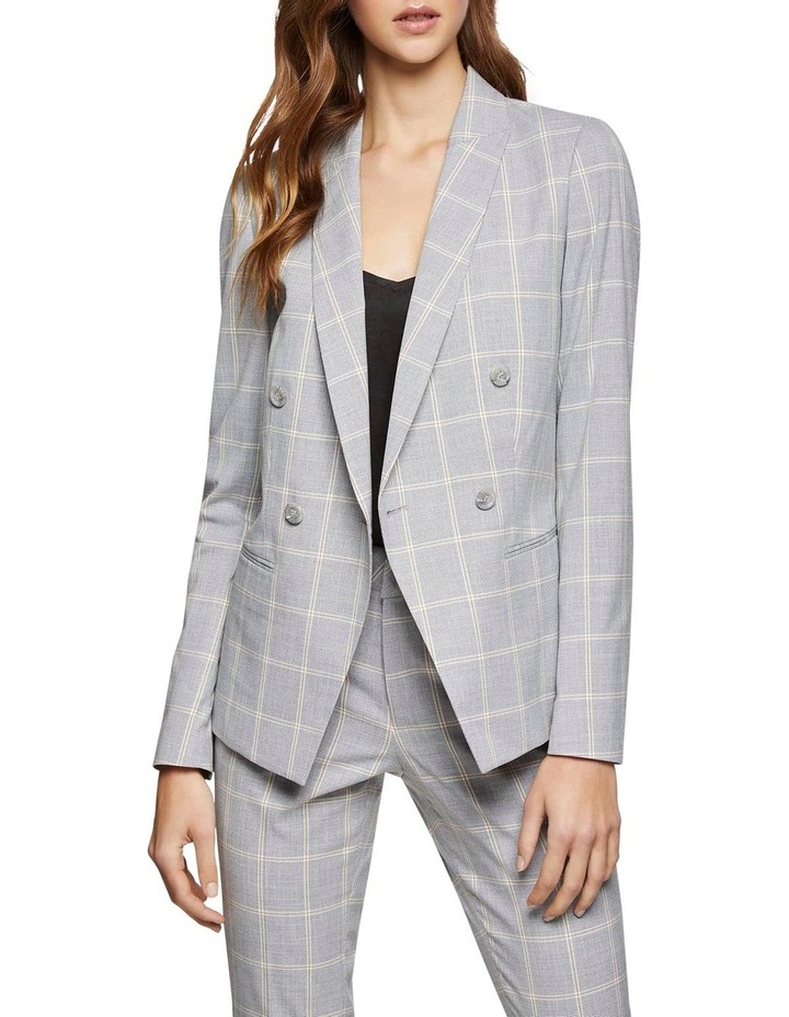 Camilla Check Suit Jacket image 1