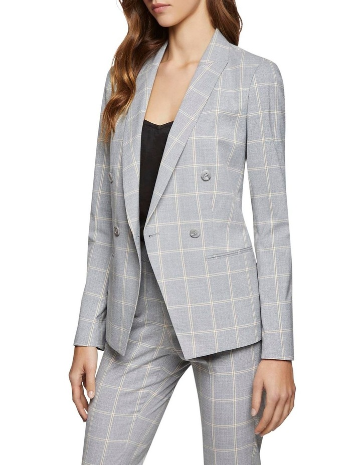 Camilla Check Suit Jacket image 2