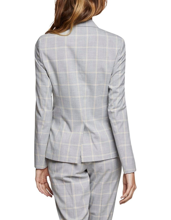 Camilla Check Suit Jacket image 3