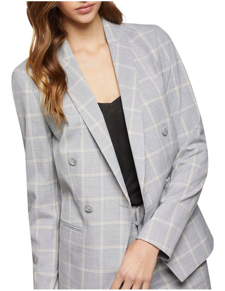 Camilla Check Suit Jacket image 4