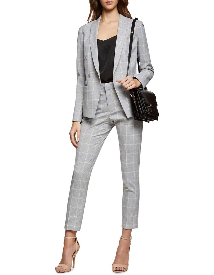 Camilla Check Suit Jacket image 5