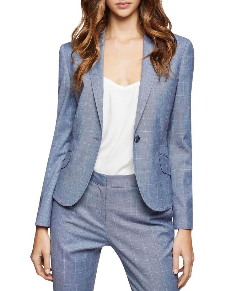 Pixie Check Suit Jacket image 1