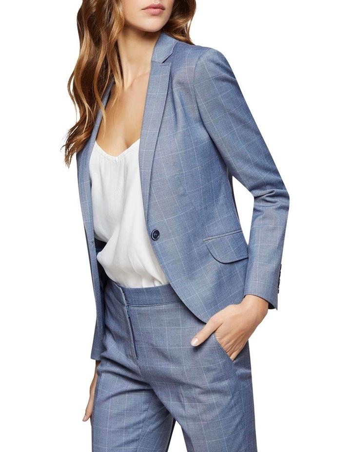 Pixie Check Suit Jacket image 2