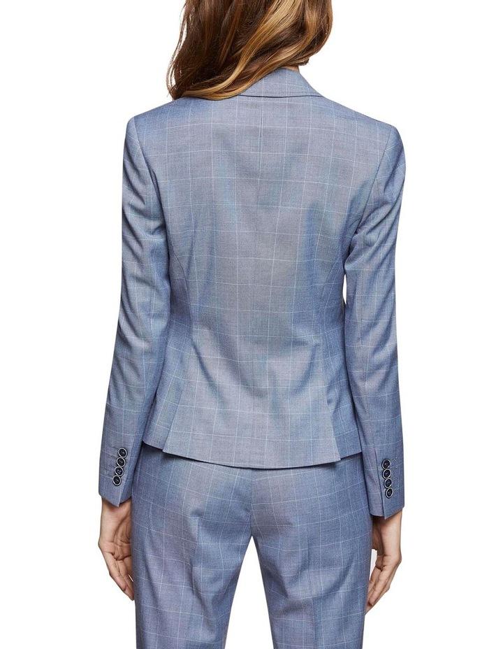 Pixie Check Suit Jacket image 3