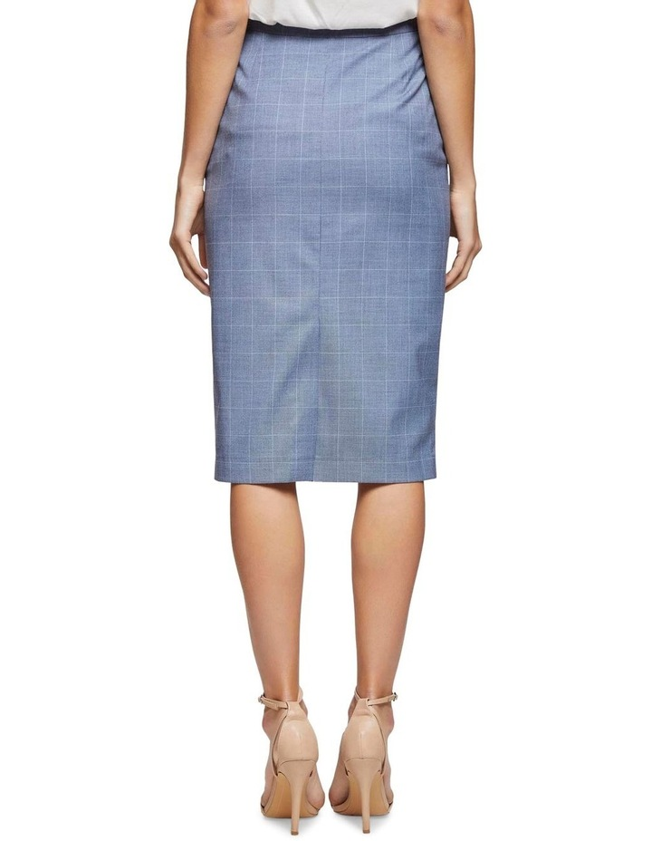 Peggy Check Suit Skirt image 3
