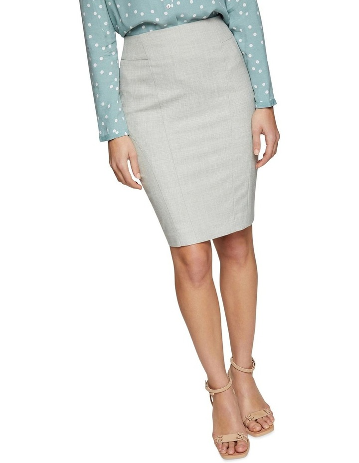 Monroe Sage Suit Skirt image 4