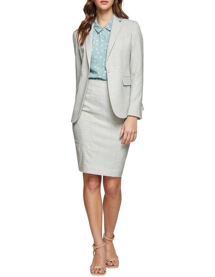 Monroe Sage Suit Skirt image 5