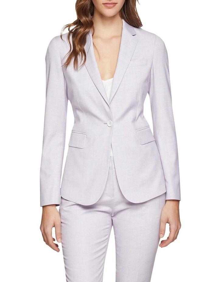 Pink Check Alexa Suit Jacket image 1