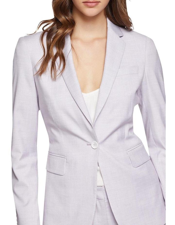 Pink Check Alexa Suit Jacket image 4
