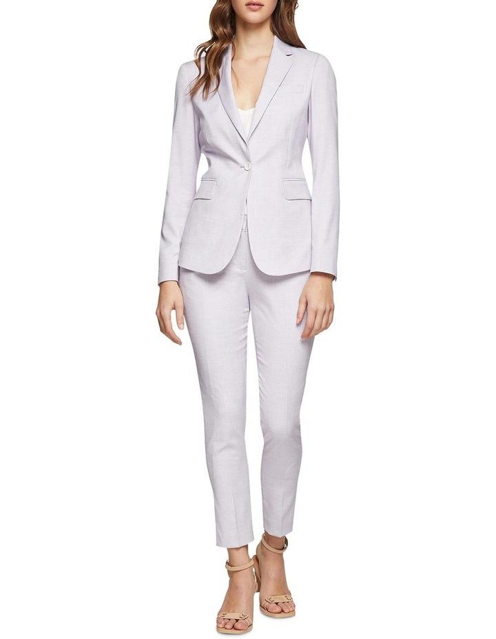 Pink Check Alexa Suit Jacket image 5