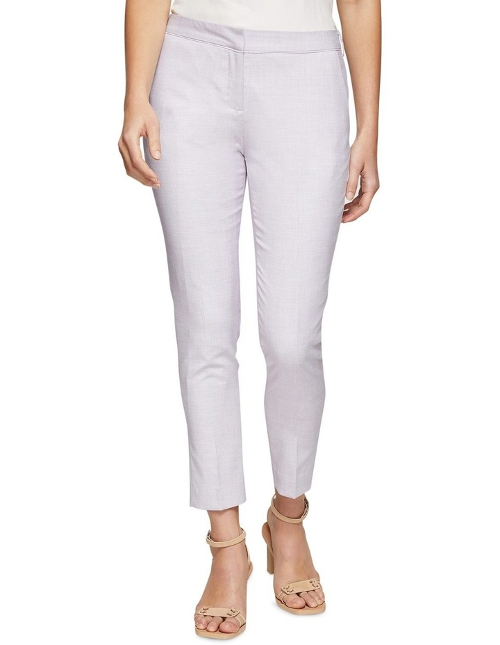 Pink Check Mia Suit Trousers image 1