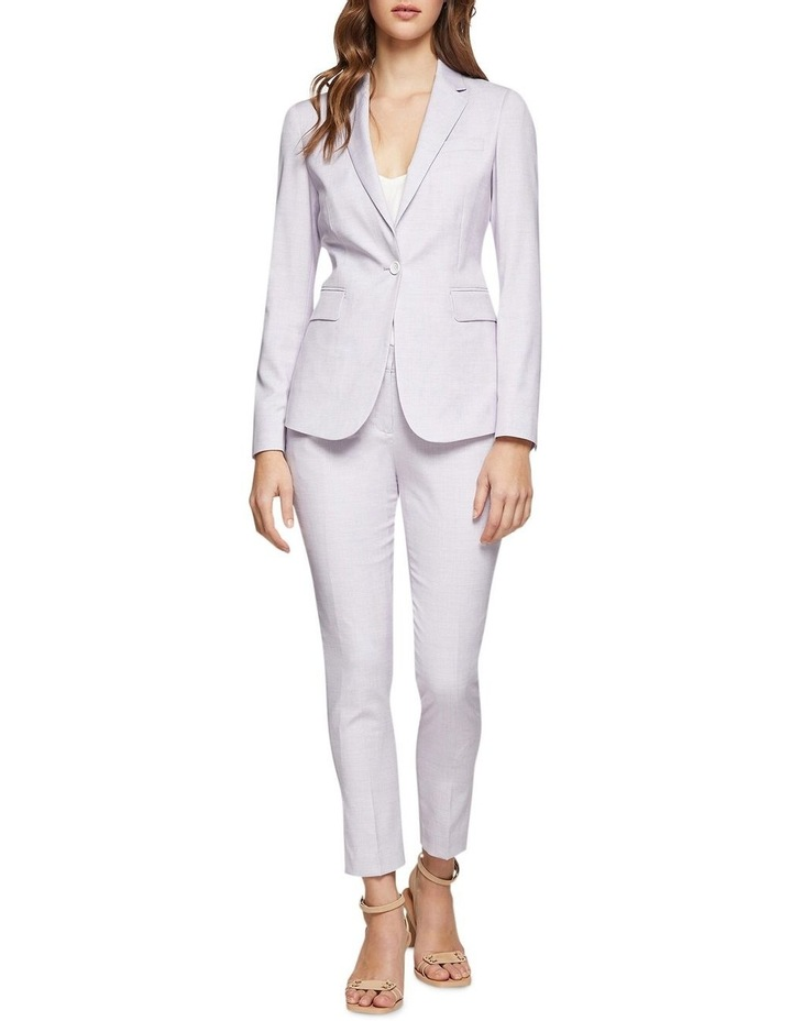 Pink Check Mia Suit Trousers image 5