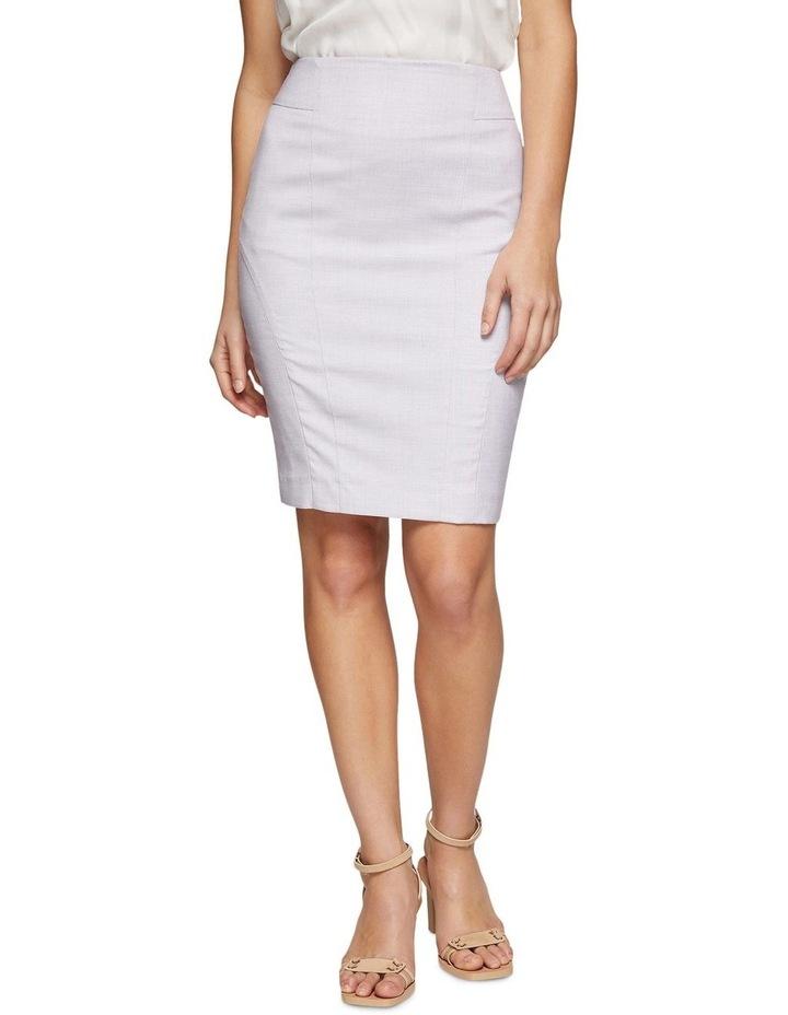 Pink Check Monroe Suit Skirt image 1
