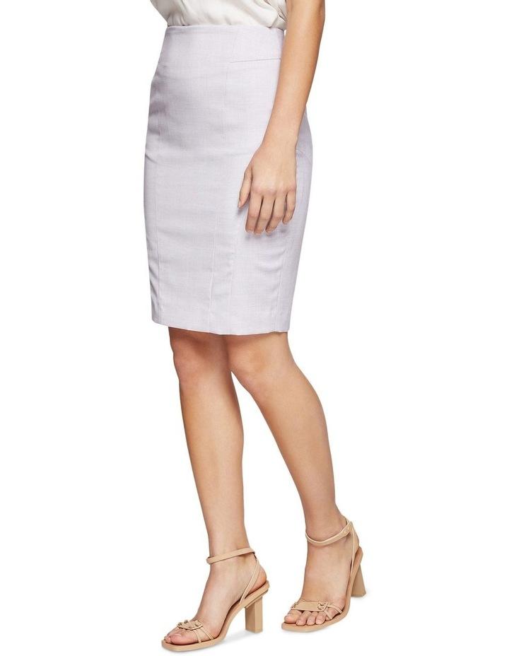 Pink Check Monroe Suit Skirt image 2