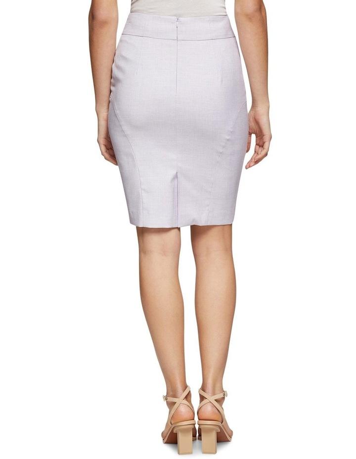 Pink Check Monroe Suit Skirt image 3