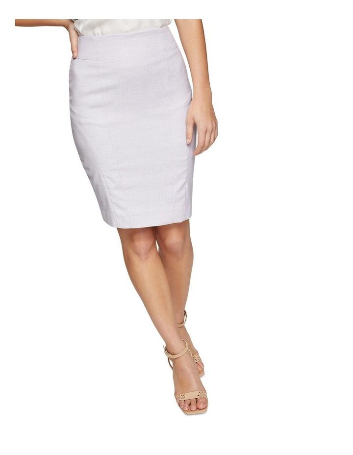 Pink Check Monroe Suit Skirt image 4