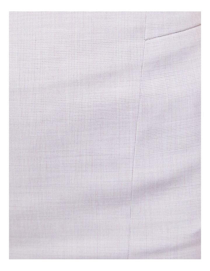 Pink Check Monroe Suit Skirt image 6
