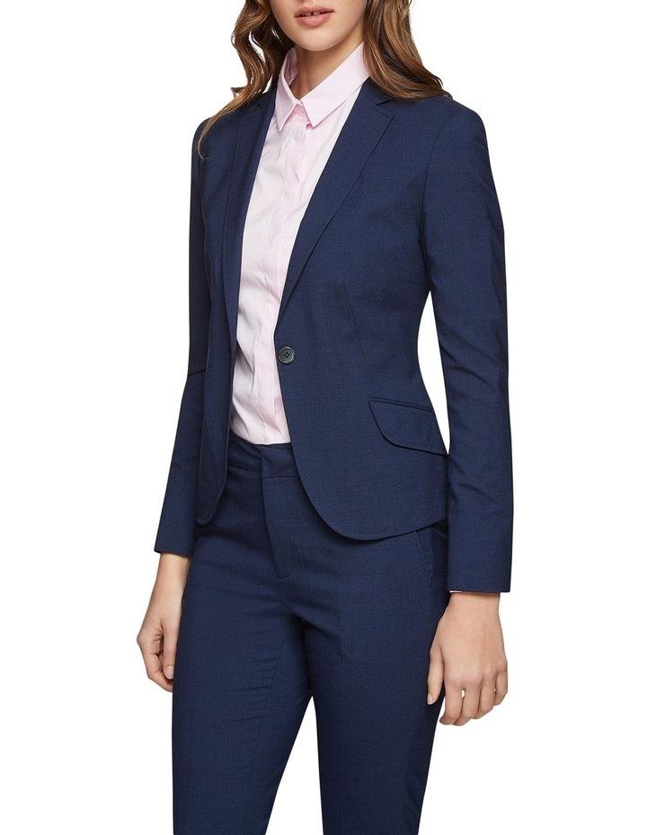 Pixie Wool Lycra Suit Jacket image 2