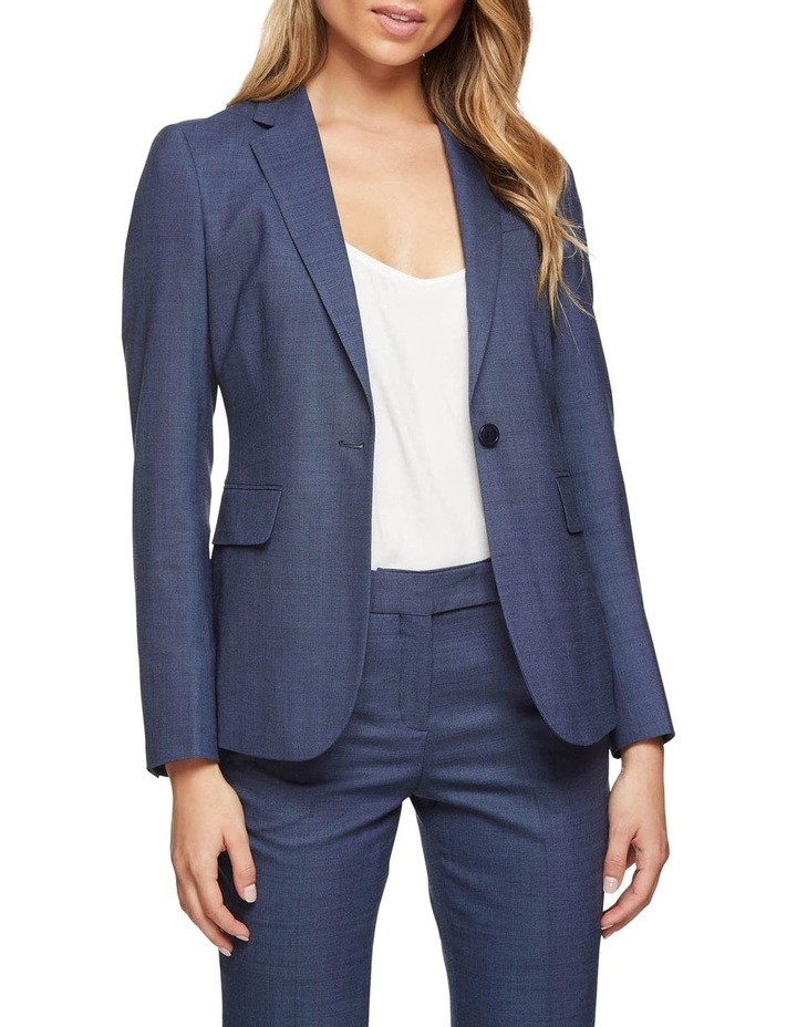 Alexa Wool Stretch Suit Jacket image 1
