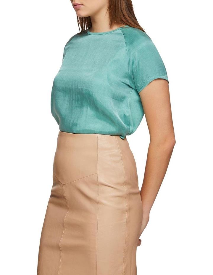 Katrina Woven Front T-Shirt image 2